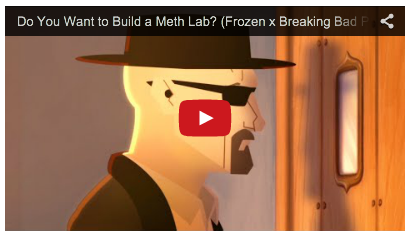 Yes-- Alex Negrete is one of the masterminds between the Breaking Bad/ Frozen video.