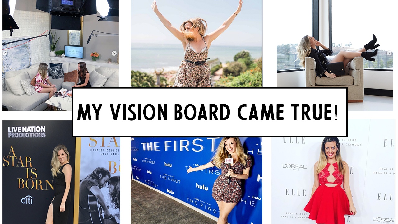 Yes Vision Boards Work! My Vision Board Came True 2018 Update