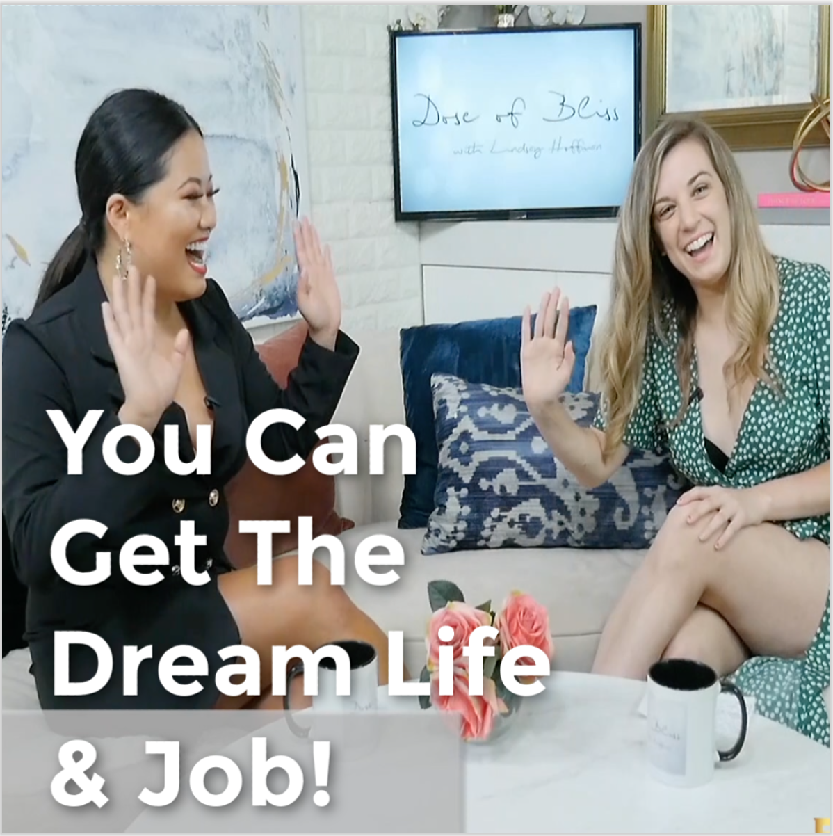 You Can Get The Dream Job & Life !  | Advice From TV Host Xixi Yang