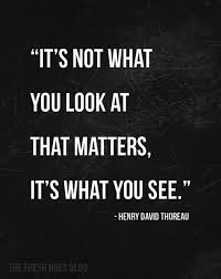 Life Is What You See Not What You Think You See