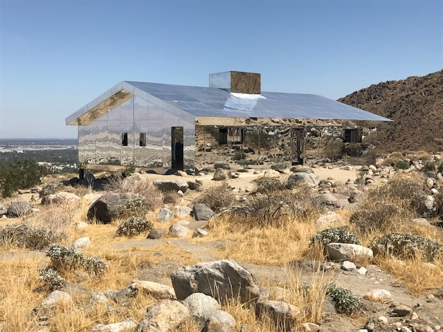 The Invisible House in The Desert