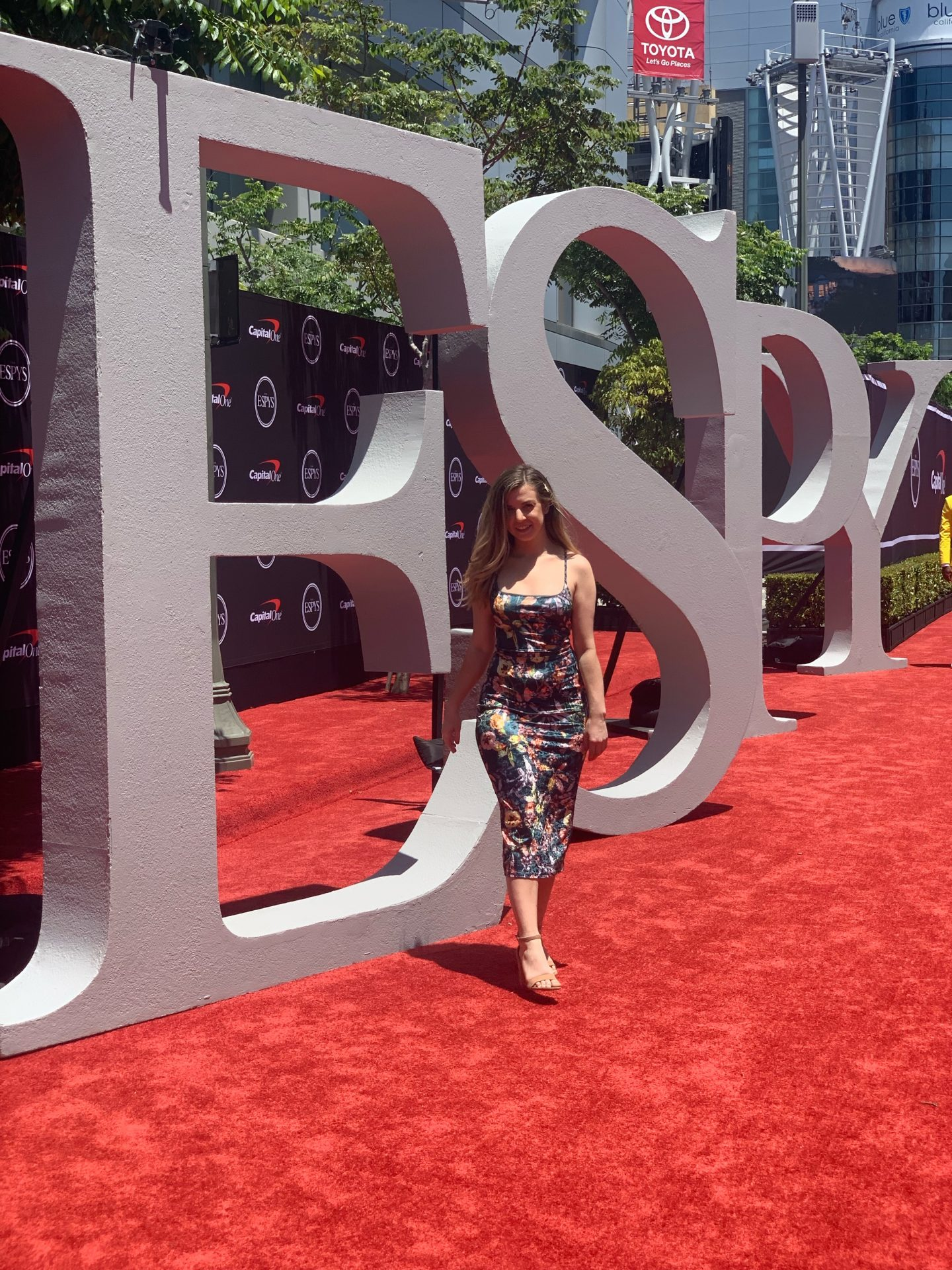 I went to the ESPYS This Year | My Vision Board in Real Life