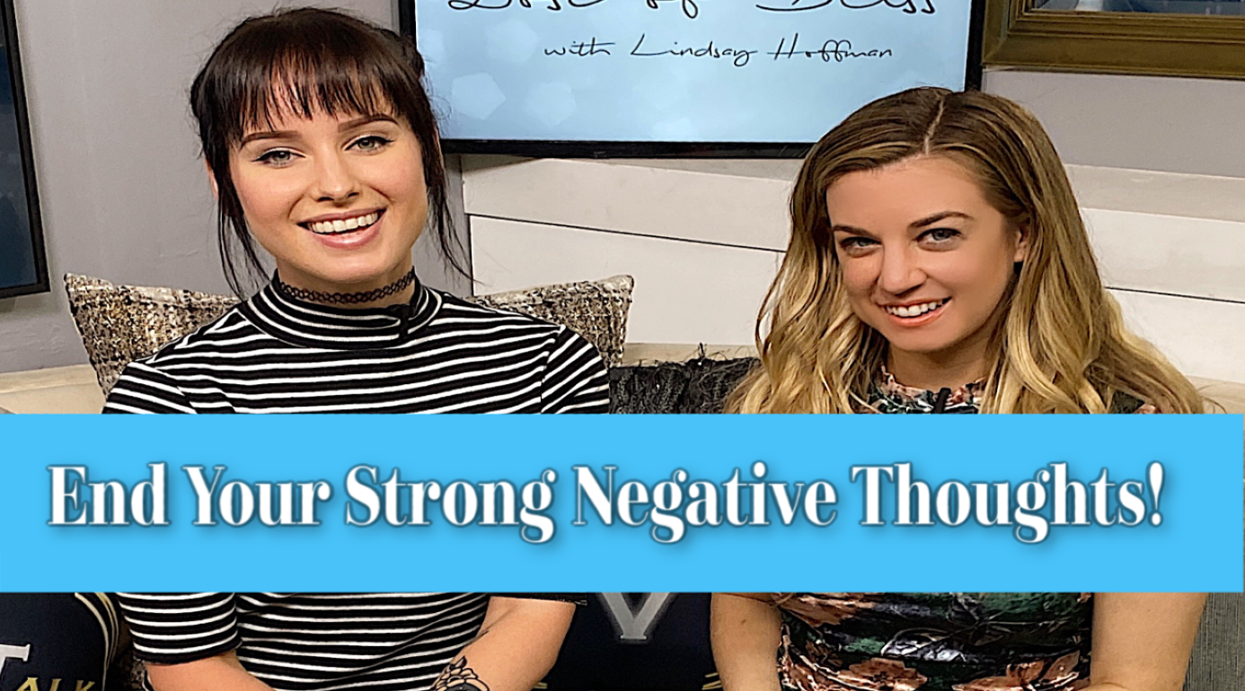 End Your Strong Negative Thoughts in 3 steps! Internet Personality Sonja Reid shares her Advice| Dose Of Bliss