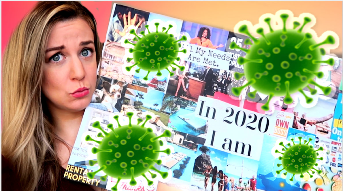 Coronavirus, That wasn't on my 2020 vision board! | How The Coronavirus effects the law of attraction