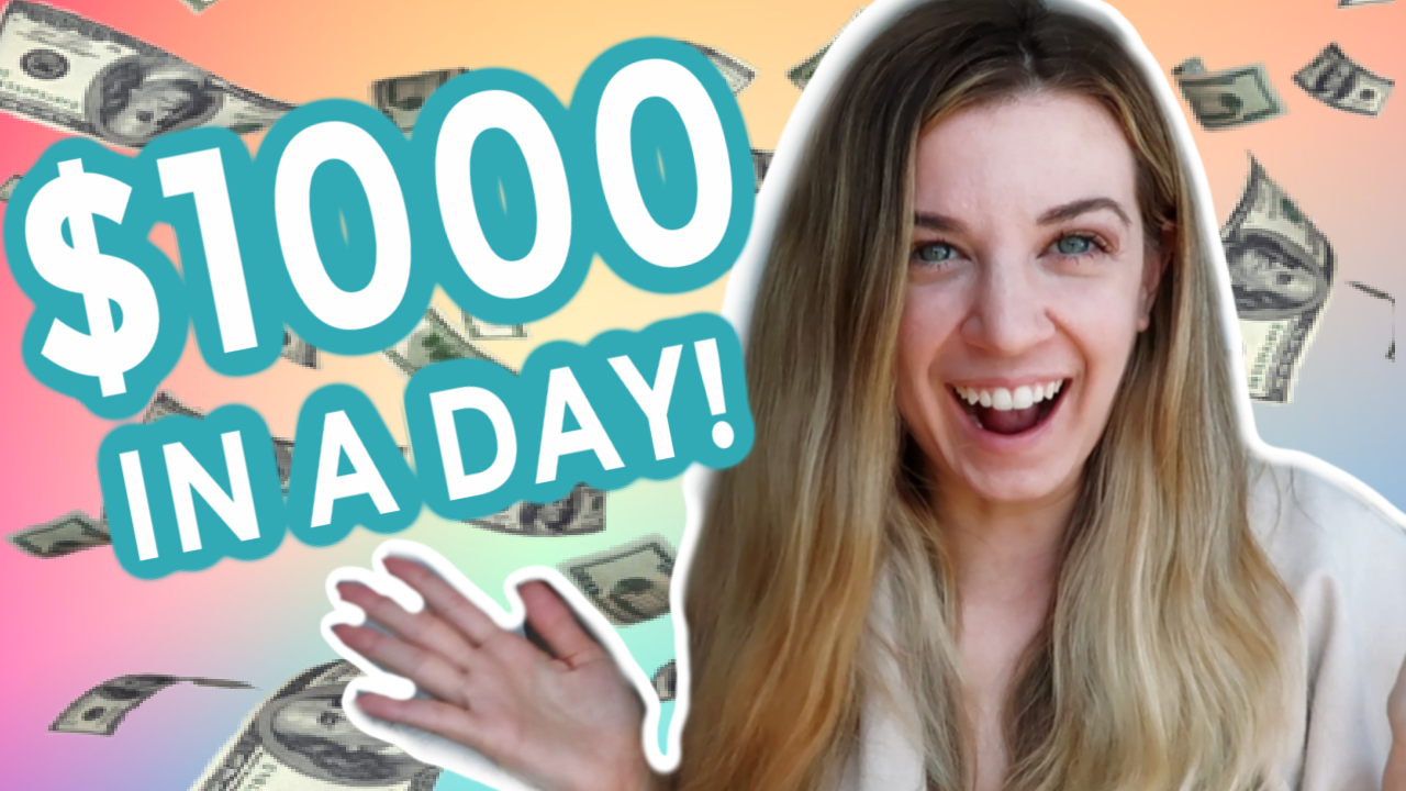 I Manifested $1000 in A Day Using Affirmations| Law of Attraction Success Story