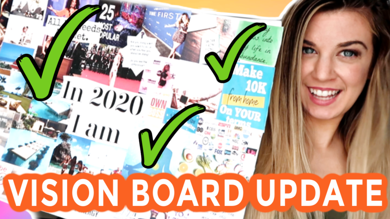 My Vision Board Six Month Manifestation Update For 2020